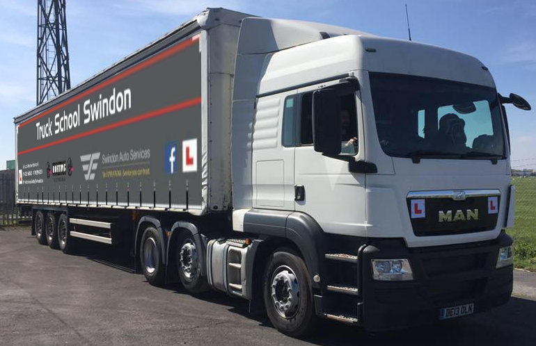 Truck School Swindon Training Truck