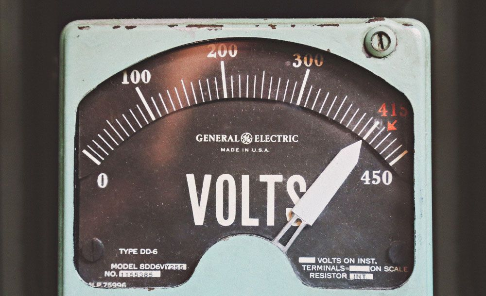 volts scale